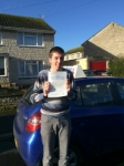 Jamie Igoe passed with Andy Woodgate Driver Training Ltd