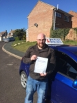 Jamie Macdonald passed with Andy Woodgate Driver Training Ltd