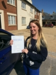 Jess Scourfield passed with Andy Woodgate Driver Training Ltd