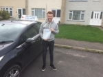 Jordan  passed with Andy Woodgate Driver Training Ltd