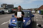 Josh passed with Andy Woodgate Driver Training Ltd