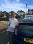 Jules passed with Andy Woodgate Driver Training Ltd