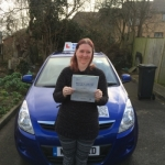 Kim - Well done Kim !! passed with Andy Woodgate Driver Training Ltd