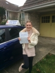 Laura passed with Andy Woodgate Driver Training Ltd