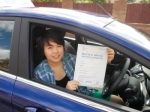 Louise Yim passed with Andy Woodgate Driver Training Ltd