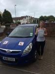 Lucy Peppin passed with Andy Woodgate Driver Training Ltd