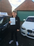 Great drive Luke! passed with Andy Woodgate Driver Training Ltd