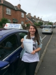 Megan  passed with Andy Woodgate Driver Training Ltd