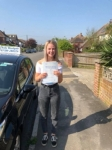 Mollie passed with Andy Woodgate Driver Training Ltd