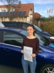 Molly passed with Andy Woodgate Driver Training Ltd