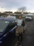 Morgan passed with Andy Woodgate Driver Training Ltd