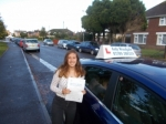 Natalie  passed with Andy Woodgate Driver Training Ltd