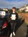 Congratulations Nial! passed with Andy Woodgate Driver Training Ltd