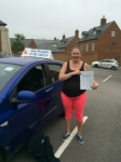 Nicolle Cornish passed with Andy Woodgate Driver Training Ltd
