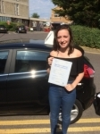 Nicole Penny passed with Andy Woodgate Driver Training Ltd