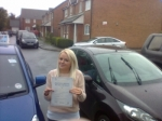 Jo passed with Andy Woodgate Driver Training Ltd