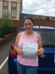 Polly passed with Andy Woodgate Driver Training Ltd