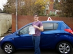 Rory passed with Andy Woodgate Driver Training Ltd