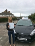 Roxy passed with Andy Woodgate Driver Training Ltd