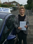 Sadie passed with Andy Woodgate Driver Training Ltd