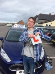 Sam passed with Andy Woodgate Driver Training Ltd