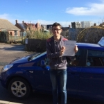 Sam Newland passed with Andy Woodgate Driver Training Ltd