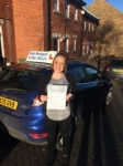 Simone passed with Andy Woodgate Driver Training Ltd
