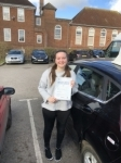 Sophie Wallis passed with Andy Woodgate Driver Training Ltd