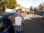 Taylor - Jade passed with Andy Woodgate Driver Training Ltd