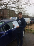 Tom Lafford passed with Andy Woodgate Driver Training Ltd