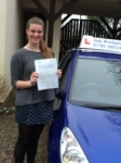 Vicky Halford passed with Andy Woodgate Driver Training Ltd