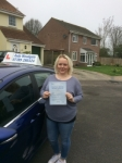 Vicky Powell passed with Andy Woodgate Driver Training Ltd