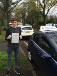 Will Baker passed with Andy Woodgate Driver Training Ltd