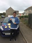 Will Holmes passed with Andy Woodgate Driver Training Ltd