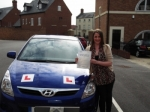 Amy passed with Andy Woodgate Driver Training Ltd