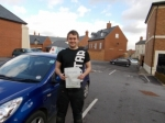 Calvin passed with Andy Woodgate Driver Training Ltd