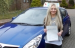 Jade - Passed with ZERO faults passed with Andy Woodgate Driver Training Ltd