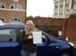 Vicky passed with Andy Woodgate Driver Training Ltd