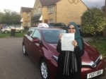 Faiza passed with Autodriveuk