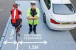 passing cyclists passed with Autodriveuk