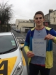 Alex Kostov passed with Bryan's School Of Motoring