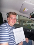 Alex Ronald passed with Bryan's School Of Motoring