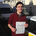 Alistair Hollis passed with Bryan's School Of Motoring