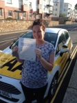Amanda Hill passed with Bryan's School Of Motoring