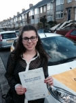 Amy Malak-Mekhail passed with Bryan's School Of Motoring
