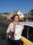 Ashleigh Patton passed with Bryan's School Of Motoring