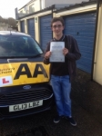 Barry Bailey passed with Bryan's School Of Motoring