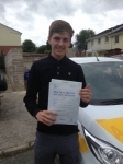 Ben Wheat passed with Bryan's School Of Motoring