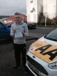 Billy Flynn passed with Bryan's School Of Motoring