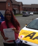 Cara Gulliford passed with Bryan's School Of Motoring
